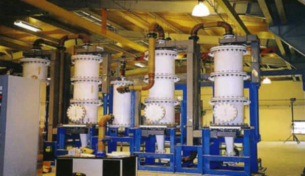 Chlorination plant